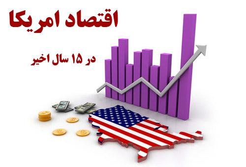 دانلود مقاله و پاورپوینت آماده اقتصاد امریکا در 15 سال اخیر