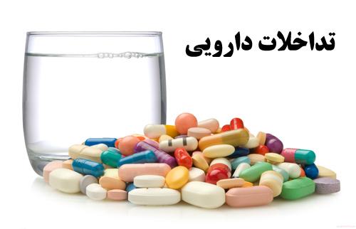 دانلود پاورپوینت آماده با موضوع تداخلات دارویی