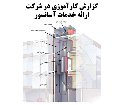 گزارش کارآموزی در شرکت ارائه خدمات آسانسور و بالابر صنعتی