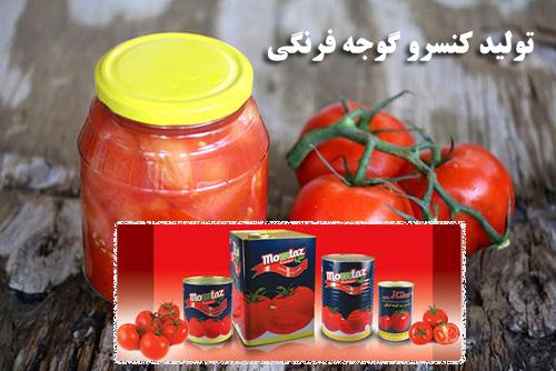 پاورپوینت مراحل تولید کنسرو گوجه فرنگی یا رب گوجه فرنگی