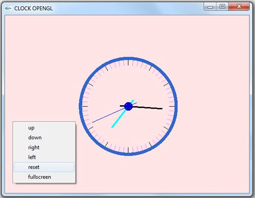پروژه دو بعدی گرافیک کامپیوتری ساعت آنالوگ