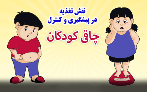 پاورپوینت نقش تغذیه در پیشگیری و کنترل چاقی کودکان