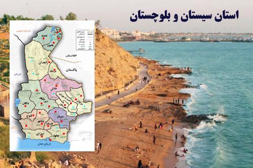 پاورپوینت بررسی جغرافیای استان سیستان و بلوچستان