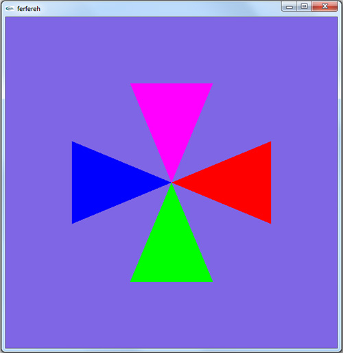 سورس برنامه گرافیک کامپیوتری فرفره رنگها