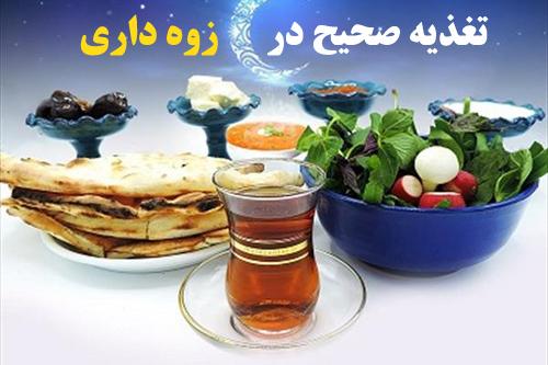 پاورپوینت اصول تغذیه صحیح در ایام روزه داری و ماه مبارک رمضان