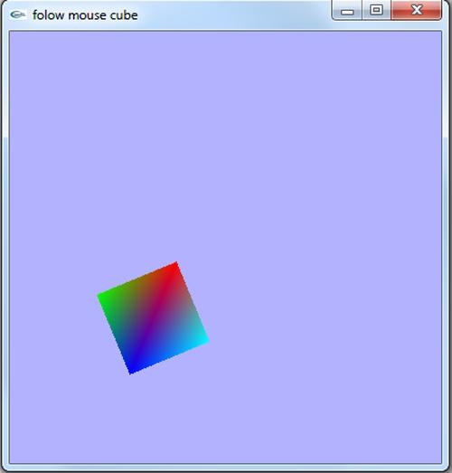 پروژه کار با موس کامپیوتر در گرافیک اپن جی ال