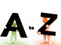 برنامه چاپ کاراکترهای A تا Z در اسمبلی