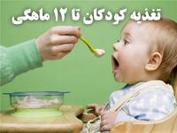 پاورپوینت با موضوع تغذیه كودكان از تولد تا 12 ماهگی