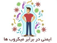 پاورپوینت ایمنی در برابر میکروب ها رشته میکروبیولوژی