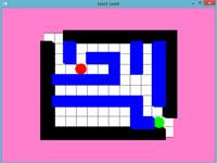 سورس کد بازی ماز در گرافیک کامپیوتری اپن جی ال