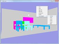 پروژه سه بعدی کلاس درس گرافیک اپن جی ال