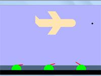 پروژه گرافیک اپن جی ال دو بعدی پدافند هوایی