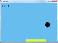 پروژه بازی دو بعدی گرافیک کامپیوتری راکت و توپ