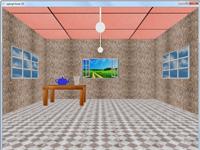پروژه سه بعدی طراحی اتاق در گرافیک اپن جی ال
