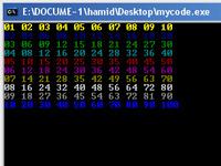برنامه جدول ضرب اعداد در زبان اسمبلی