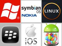 مقاله و پاورپوینت بررسی سیستم عامل های موبایل