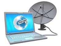 تحقیق به همراه پاورپوینت در مورد اینترنت ماهواره ای